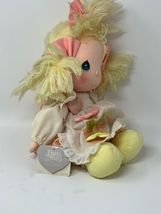Applause Precious Moments Collectible Cloth Doll Heather #4562 with Locket image 4