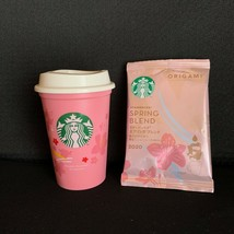 STARBUCKS SAKURA Reusable Eco Cup Japan Limited 2020 Cherry Blossoms 273ml - $23.25