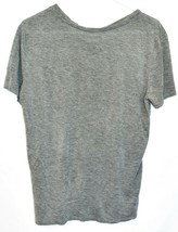 """Fifth Sun Women's """"Sleigh All Day"""" Gray Crew Neck T-Shirt Size XS image 2"""