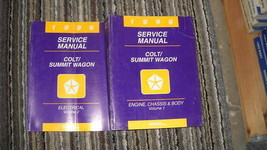 1996 Eagle Summit Wagon & Dodge Colt Workshop Service Shop Repair Manual... - $9.85