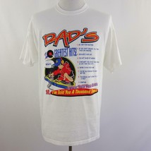 Dad Dad's 10 Greatest Hits Graphic T Shirt Mens Sz L 42-44 - $19.25