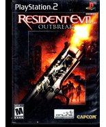 Playstation 2 - Resident Evil: Outbreak  - $11.90
