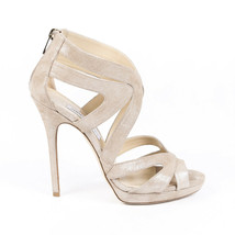 Jimmy Choo Collar Suede Sandals SZ 38.5 - $205.00