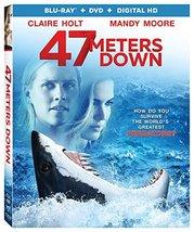 47 Meters Down (2017) [Blu-ray + DVD + Digital]