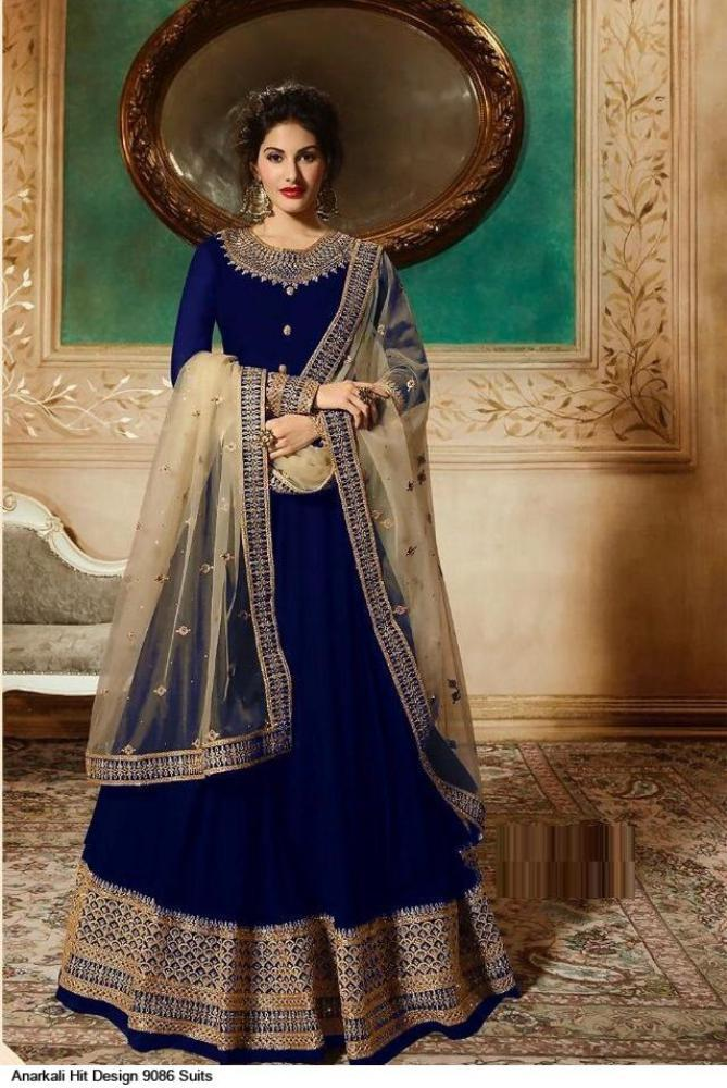 Primary image for Anarkali Salwar Kameez Designer Bridal Gown Party Wears Dress Traditional Dress