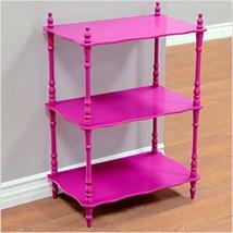 Organizer Shelf Girls Kids Bedroom Storage Purple Rack Vintage Furniture... - $49.45