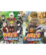 DVD ~ NARUTO SHIPPUDEN COMPLETE BOX 2+3 (EPISODE 221 - 540 ) ~ ENGLISH V... - $179.99