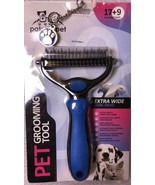 Pet Grooming Tool Extra Wide Dual Wide Head for dogs & cats - $12.87