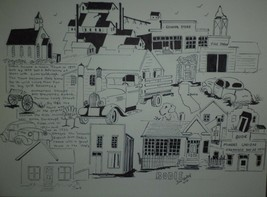 Ghost Town Bodie Ca. Drawing - $29.99