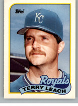 1989 Topps Traded #69T Terry Leach NM-MT Royals - $0.79