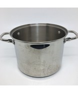 Wolfgang Pucks Cafe Collection Stock Pot 18/10 Stainless Steel #022005 -... - $32.71