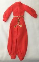 Vintage Barbie Harem-m-m #1784 Nylon Jumpsuit w/ Belt  291-28 - $20.00