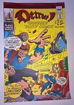 DETROIT MURDER CITY COMIX full color Comics poster print flyer Thick Sto... - $8.99