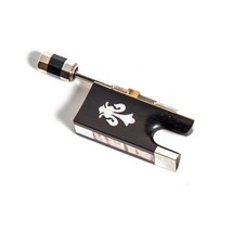 SKY Ebony Violin Bow Frog with fleur de lys Desigh for 4/4 Violin Bow - $19.79