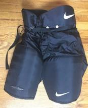 Nike Ignite 3 III Black Nylon Hockey Pants Padded Senior Large L - $159.99