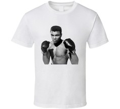Muhammad Ali Young Greatest Boxer Boxing T Shirt White - $16.69+