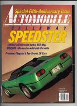 April 1991 issue of Automobile Magazine - $2.97