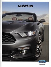 2015 Ford MUSTANG sales brochure catalog 15 US V6 EcoBoost GT Grey Front... - $9.00