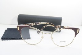 Prada Women's Burgundy Glasses with case VPR 61T VAX-1O1 52mm - $76.95