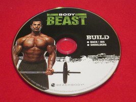BODY BEAST - BUILD: Back + Bi's + Shoulders - New Fitness DVD * - $26.24