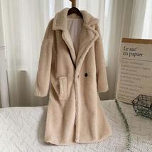 Luxury Fashion Leopard Long Thick  Faux Fur Teddy Bear Coat image 13