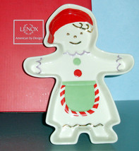 Lenox Gingerbread Girl Candy Dish New In Box - $24.90