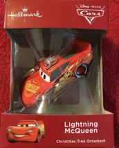 Hallmark 2018 Disney Pixar Cars Lightning McQueen Christmas Ornament New... - $14.84