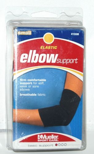 Mueller 415SM Elastic Elbow Support Size Small Color Black
