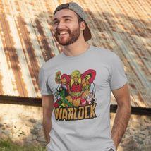 Adam Warlock T shirt retro 1970s Marvel comics gray blend graphic tee Pip Gamora image 3
