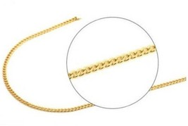 A and M 14kt Yellow Gold Cuban Chain Necklace, 20' - $131.07