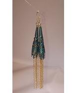 Filigree Silver Tassel Earrings - $35.00