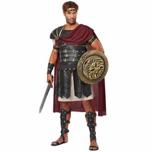 ADULT MENS ROMAN GLADIATOR ANCIENT WARRIOR SOLDIER ROME HALLOWEEN COSTUM... - $44.95