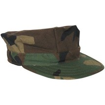 Fox Outdoor Products Marine Cap Small Woodland Without Emblem - $26.51