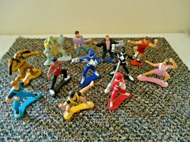 Vintage Mixed Lot Of 12 Small Bandai 1993 & 1994 Power Ranger /Other ? F... - $29.99