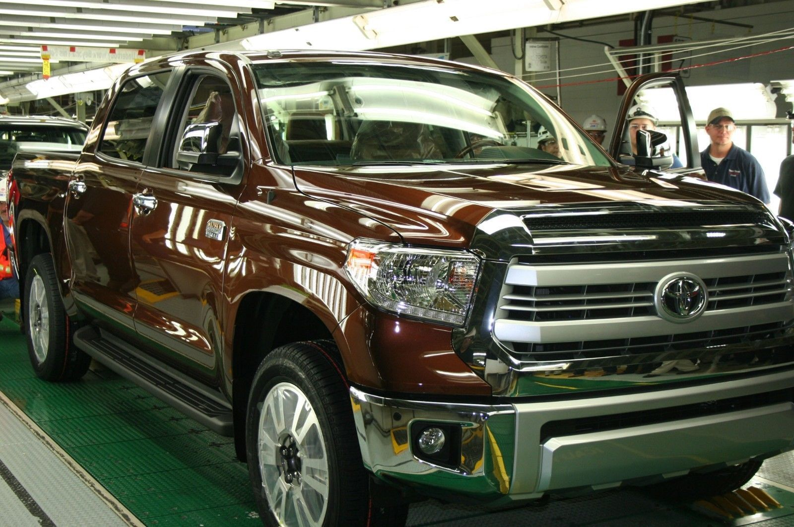 Primary image for 2014 TOYOTA TUNDRA 1794 POSTER | 24 x 36 INCH | TOY | PRODUCTION PLANT