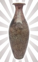Brown Stone Birch Bottle Vase Modern Home Decor... - $26.45