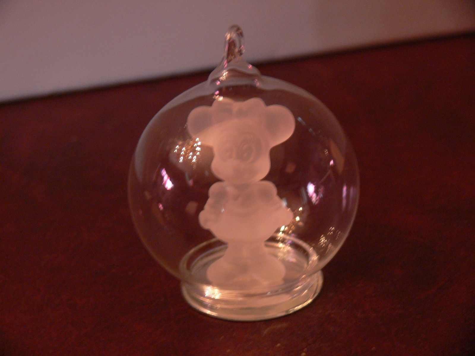 e1f9a76f26d504 Disney Minnie Mouse Crystal Glass Figurine and 50 similar items. S l1600