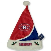 Montreal Canadiens Forever Collectibles NHL Hockey Knit Fleece Santa Hat  - $17.09