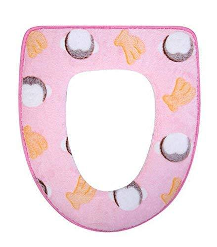 Primary image for PANDA SUPERSTORE Plush Toilet Seat Pad Autumn&Winter Toilet Seat Toilet Cushion