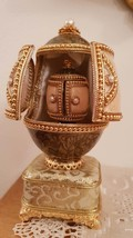 ONE ONLY 24K Faberge design egg style  unique collector showpiece/Russian egg Fa - $999.00