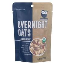 Overnite Organics - Overnight Oats Almond Berry - Case of 8 - 1.75 OZ - $27.12