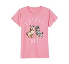 Cute Australian Cattle Dog T Shirt Cartoon Dogs Tee Gift - $19.99+