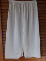 Ladies cream half slip size SM (24/26 waist)  - $9.25