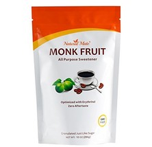 All Purpose Granular Monkfruit Sweetener with Erythritol, 10oz/Pack, 2x ... - $27.67