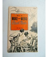 How to Make and Mend Cast Nets by Ted Dahlem 1968 PB Illustrated book - $14.00