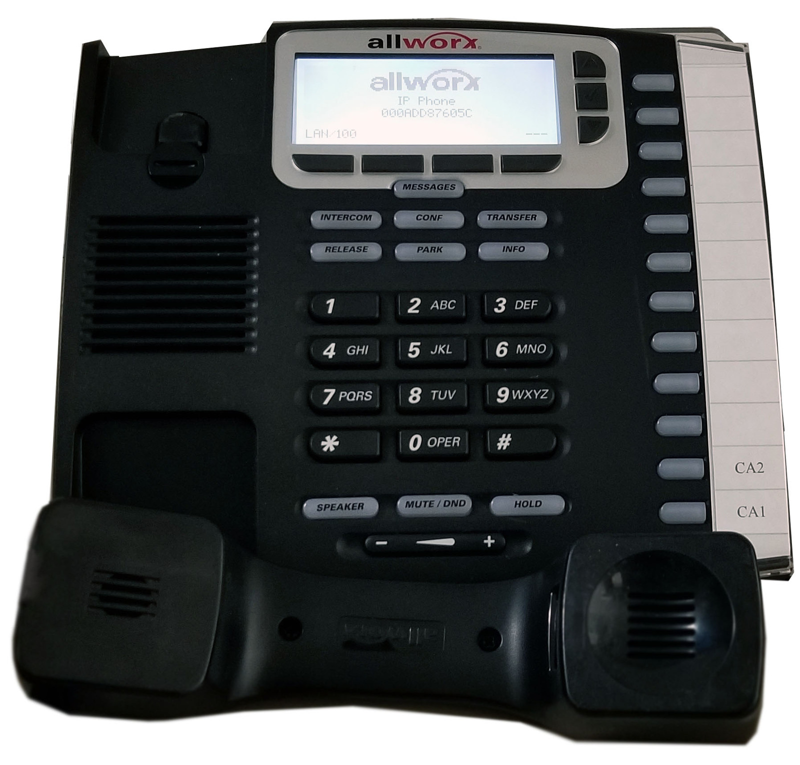 Allworx 9212L VoIP Phone With Power Over Ethernet (PoE) Bin:13