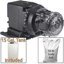 Soda Ash Injection System for Acidic Water - Includes Stenner 85MHP17 In... - $645.00