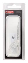 Delta Wave Acrylic Chrome Button Faucet Handle Button RP17446 Lavatory, Tub - $9.44