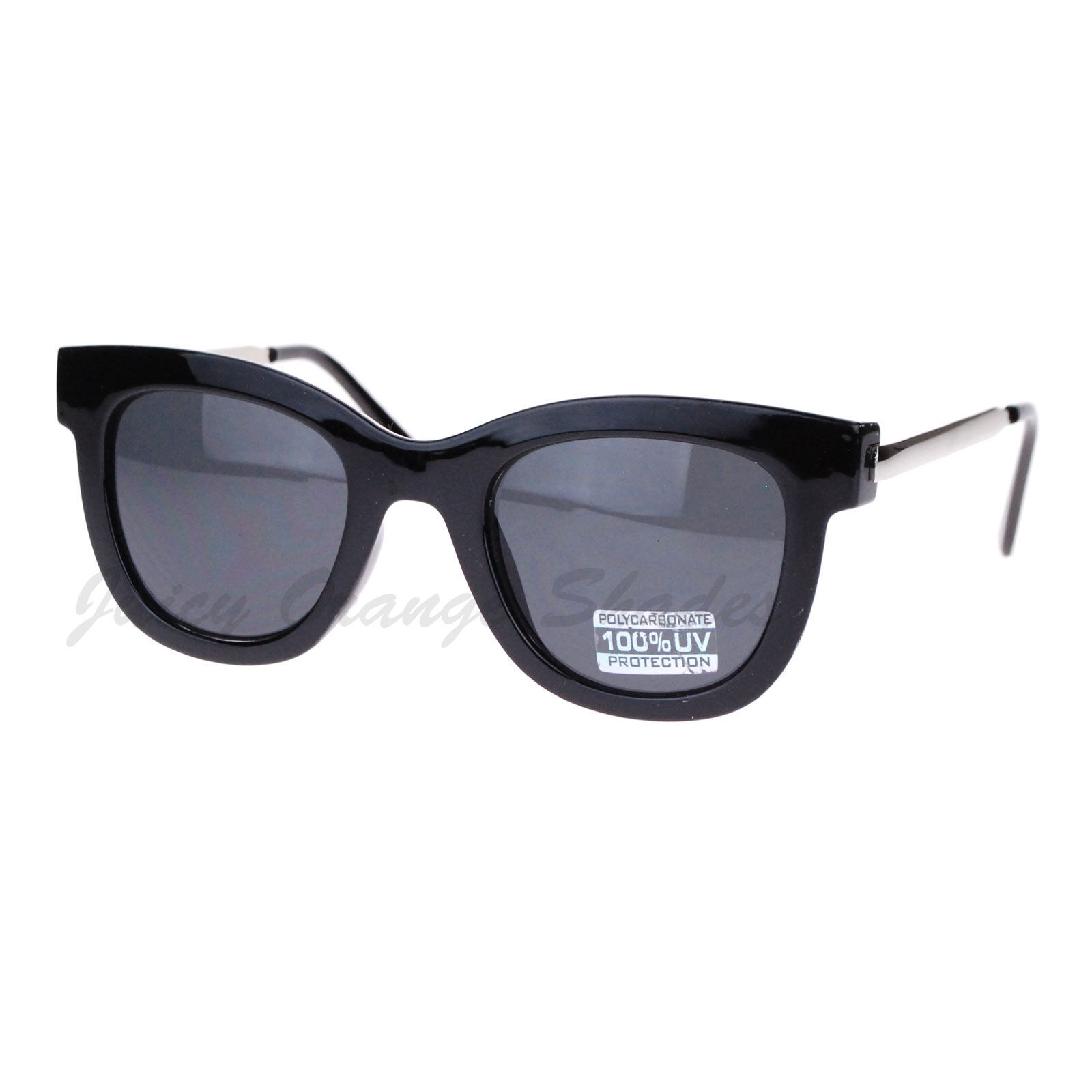 Vintage Square Frame Sunglasses Women's Designer Fashion