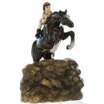 Hagen Renaker Specialty Horse Jumping with Rider Ceramic Figurine image 9